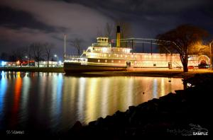 Recently Sold - 2-5-2014 - SS Sicamous Steam Ship